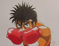 Dibujo de Hajime No Ippo!