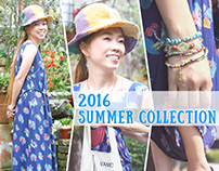 【Webデザイン】2016 SUMMER COLLECTION バナー
