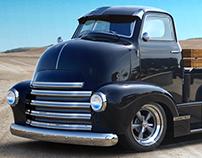 Chevy Truck custom CGI