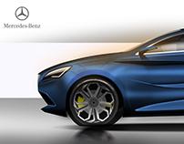 Mercedes CLA fastback concept
