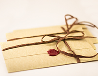 Wedding Invitation – Medieval Design