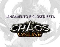 ONGAME | Página de Lançamento - CBT Chaos Online