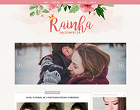 Rainha da Simpatia - Blogger Layout