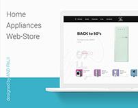JFS Online store (concept)