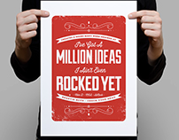 A Million ideas