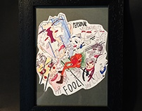 Fool And Cool (19,5×24,5)