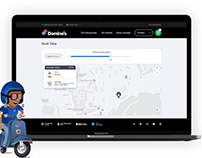 Domino's Turkey Pizza Tracking User Flow