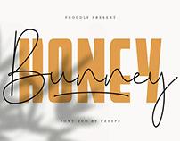 Honey Bunney Font Duo