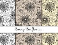 Sunny Sunflower Pattern