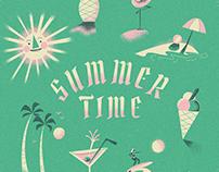 Summer Time Illustrations
