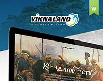 Viknaland: Website and print design | Case study