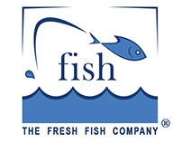 Logo: the fresh fish company