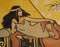 """Batik """"Cleopatra"""""""