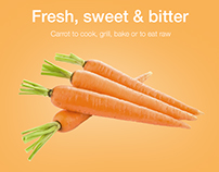 Carrot web- and graphic design