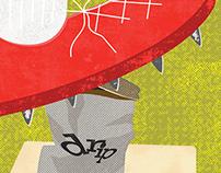 Retro Kickball Poster