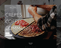 Streetside Creperie Web Design