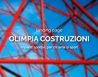 Landing Page Olimpia Costruzioni