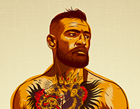 Conor McGregor Infographic