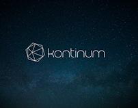 kontinum logo design