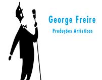 George Freire produções artísticas - logo