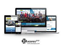 ANC Azores Holidays // Custom Responsive Website