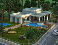3D Exterior Rendering Services Los Angeles California