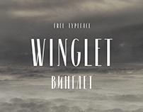 Winglet | Free font