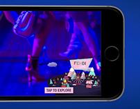 FENDI - InstantPlay™ Animated Overlay Video Ad