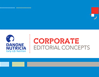 Editorial Concepts: Danone Nutricia