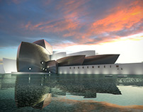 Guggenheim Style Rendering