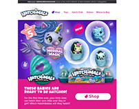 Hatchimals | Email & Ad Campaign