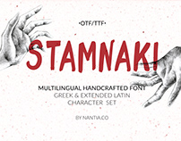 Stamnaki Greek Font