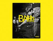 Barré magazine n°1