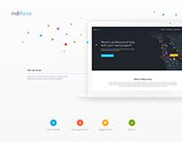 IndiForce - Web App