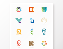Logo and identity grid systems