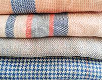 woven kitchen textiles
