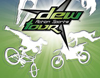 Action Sports Dew Tour -  Poster