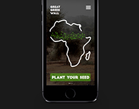 Great Green Wall iOS App