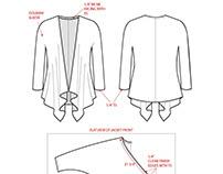 Knit Jacket Tech Pack