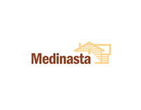 Scandinavian houses factory MEDINASTA logo