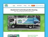 Website Design - Austin Bin Wash