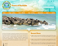 Town of Surfside Florida - Website Design
