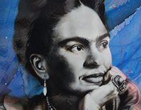 Frida Kahlo and its light