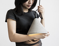 Zhong - The Concrete Pendant Lamp in mass production