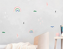 PUPUPULA Wall Decal