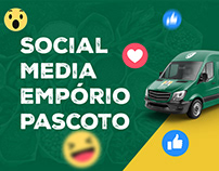 Empório Pascoto - Social Media