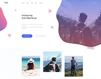 Trips Website UI