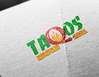 TAQOS MEXICAN GRILL   LOGO DESIGN PROPOSAL