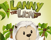 Background for Lanny the Lion mobile game.