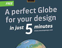 Infographic - A perfect globe for your design